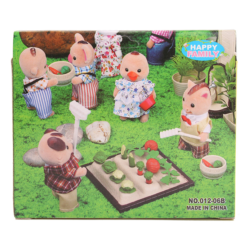 1:12 Simulation Vegetable Land Play House Props Dollhouse Creative DIY Material