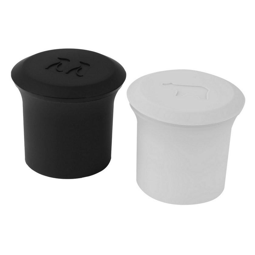 Honana CF-PP12 2 Pcs Polar Bear Penguin Silicone Ice Cube Jelly Pudding Chocolate Mold Maker