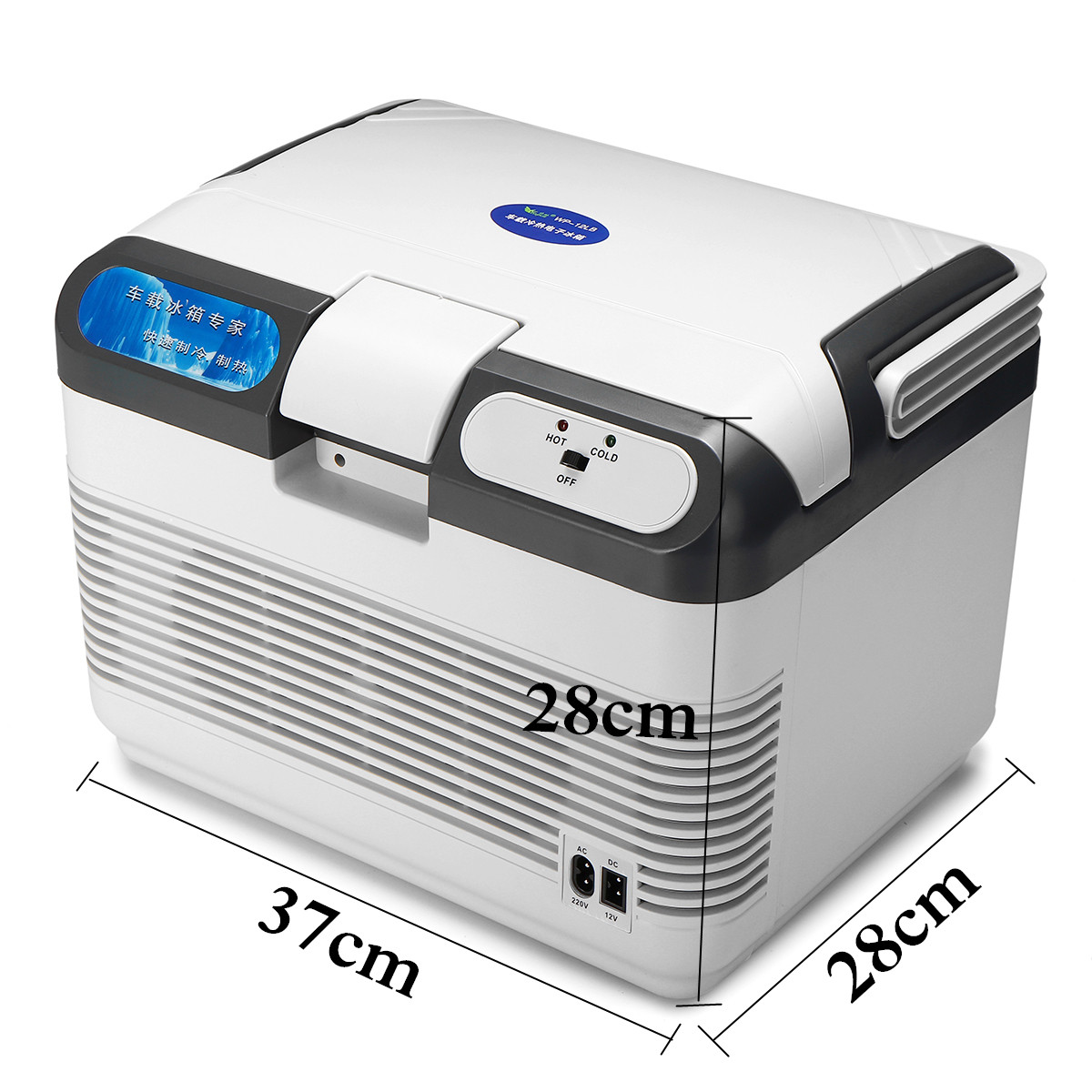 12L Portable Mini Car Refrigerator Camping Home Fridge Cooler & Warmer 12V/240V