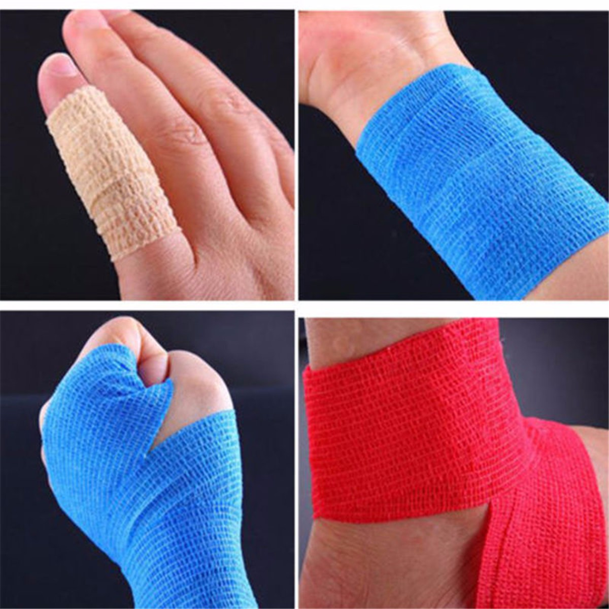 450x5cm Waterproof First Aid Self-Adhesive Elastic Bandage Muscle Care Gauze Tape