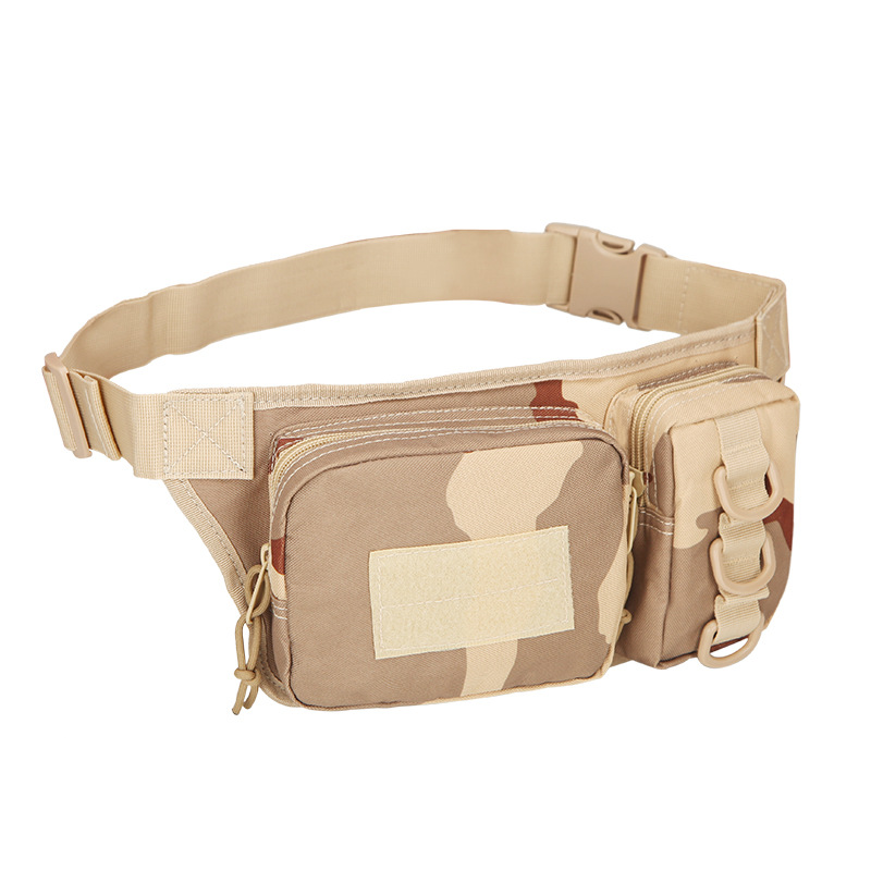 Outdoor Sports Waist Bag 3p Molle Camouflage Phone Bag Utility Pack Pouch Camping Hiking