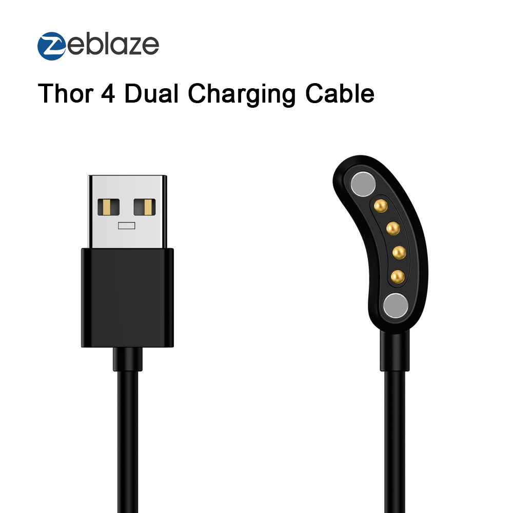 65cm Charging Cable Data Transmission Watch Cable for Zeblaze THOR 4 Dual Watch Phone
