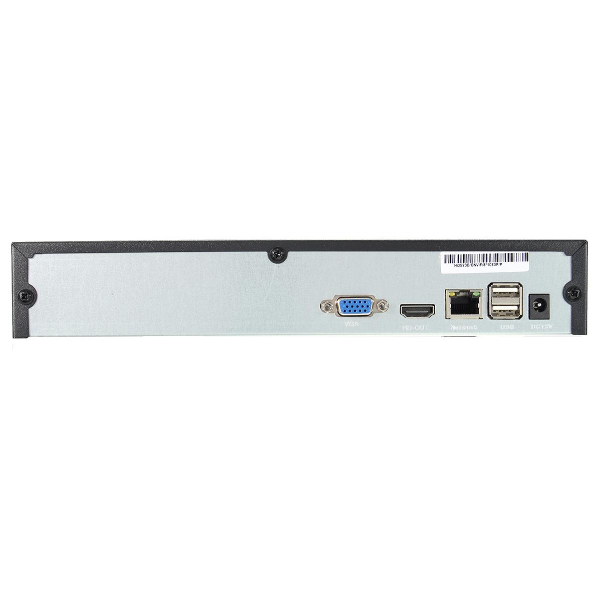 H.264 8CH 1080P Network NVR Video Recorder HD ONVIF P2P Cloud HDMI VGA USB