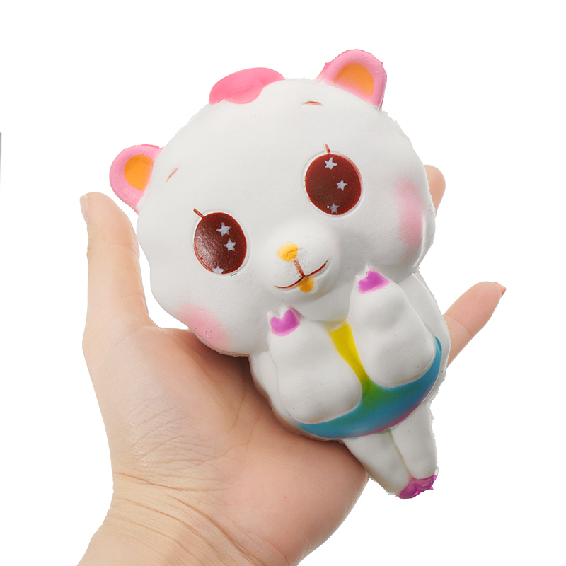 Sheep Squishy 13.5CM Slow Rising Squeeze Stress Reliever Toy Phone Strap DIY Decor Birthday Gift