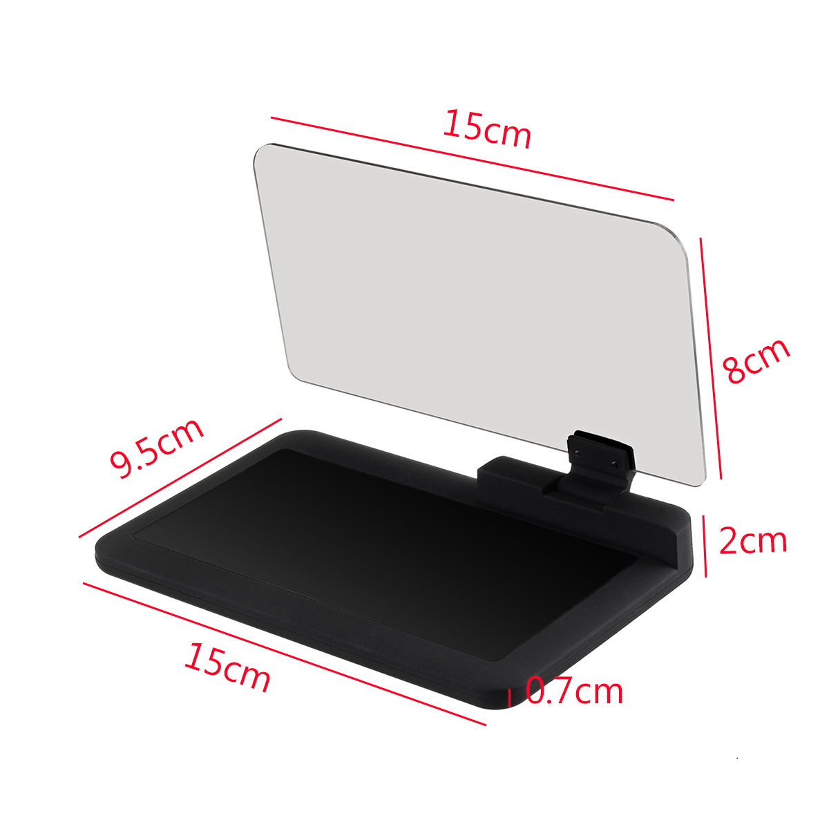 Car GPS HUD Head Up Display Phone Holder Mount Phone Navigation Projector for iPhone Samsung Xiaomi