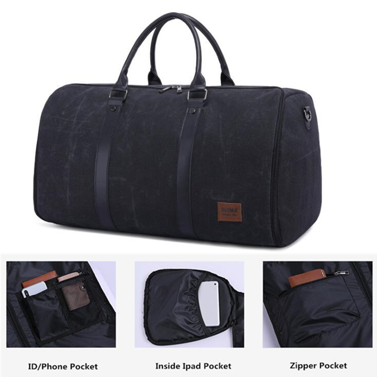Outdoor Sports Duffel Multifunctional Fitness Gym Running Luggage Travel Suits Bag