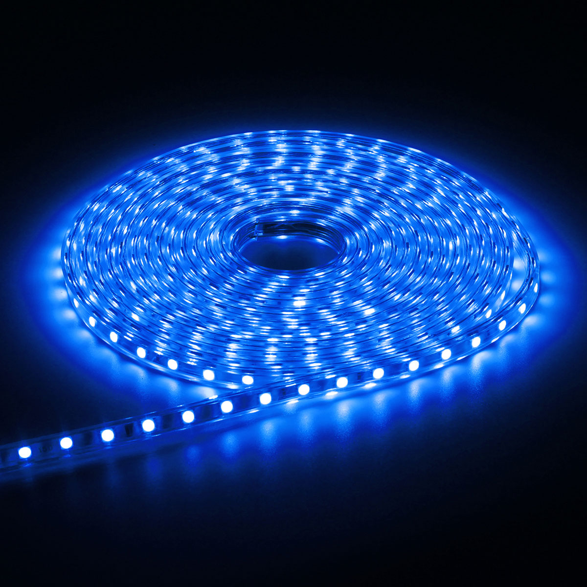 6M 5050 LED SMD Outdoor Waterproof Flexible Tape Rope Strip Light Xmas 220V