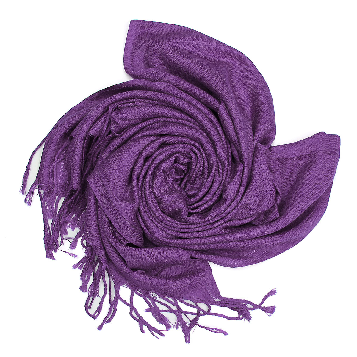 Women Ladies Cashmere Imitation Silk Tassel Fringe Shawl Wrap Long Range Scarf Pashmina