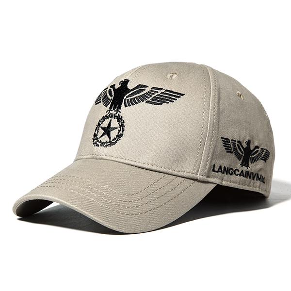 Eagle Embroidery Baseball Cap Outdoor Sports Sun Hat For Men