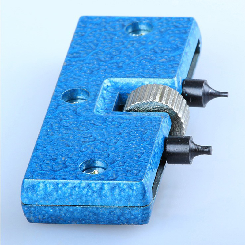 Adjustable Blue Watch Battery Change Back Case Cover Opener Remover Screw Wrench Repairing Tool