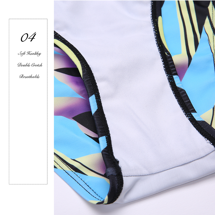 Sexy Show-Off Printed Mesh Key Hole Backless Hollow Out One-Pieces Swimsuit