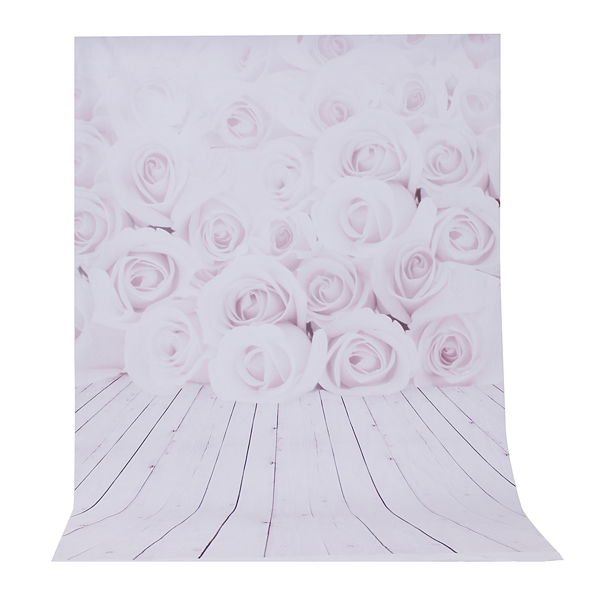 3x5ft Pink Rose Theme Photography Vinyl Backdrop Studio Background 0.9m x 1.5m