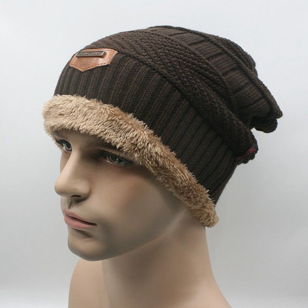 Winter Outdoor Sports Riding Unisex Caps Wool Beanie Knitted Hats