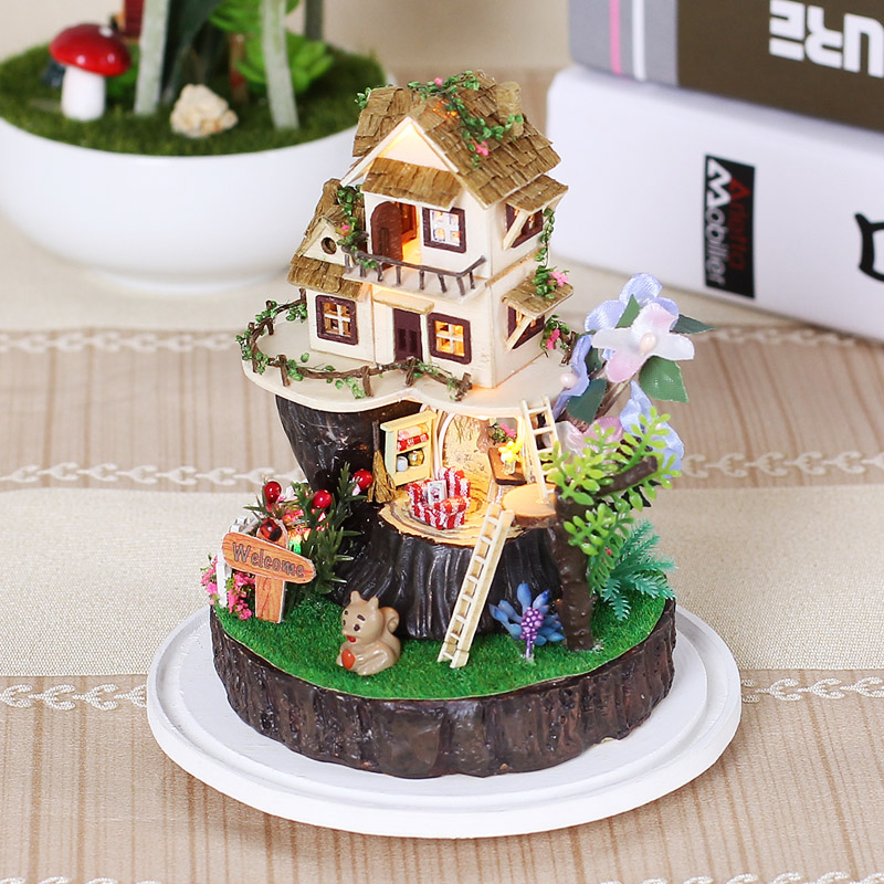 iiecreate GN-03 Song Of The Forest DIY Doll house Assembled Toy