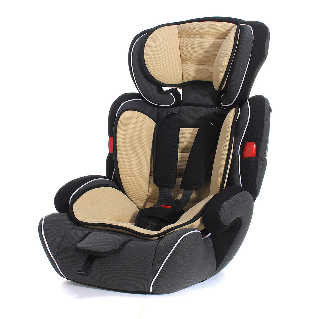Brown Convertible Baby Kid Children Car Safety Seat & Booster Seat Group 1/2/3 9-36 KG Series A
