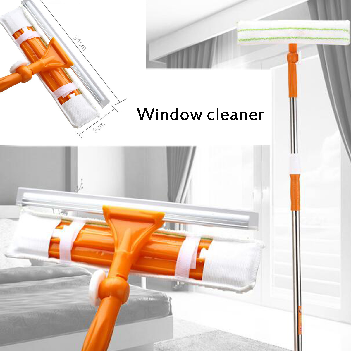 5 in 1 Multi-function Flat Mop Hands-Free Washable Mop Home Cleaning Tool