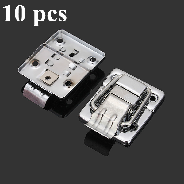 10 pcs chrome toggle latch for chest box case suitcase tool clasp