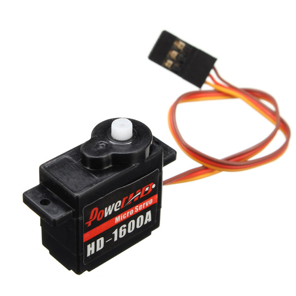 Power HD-1600A 1.3KG 6g Micro Servo Steel Ring Engine Compatible with Futaba/JR RC Car Part