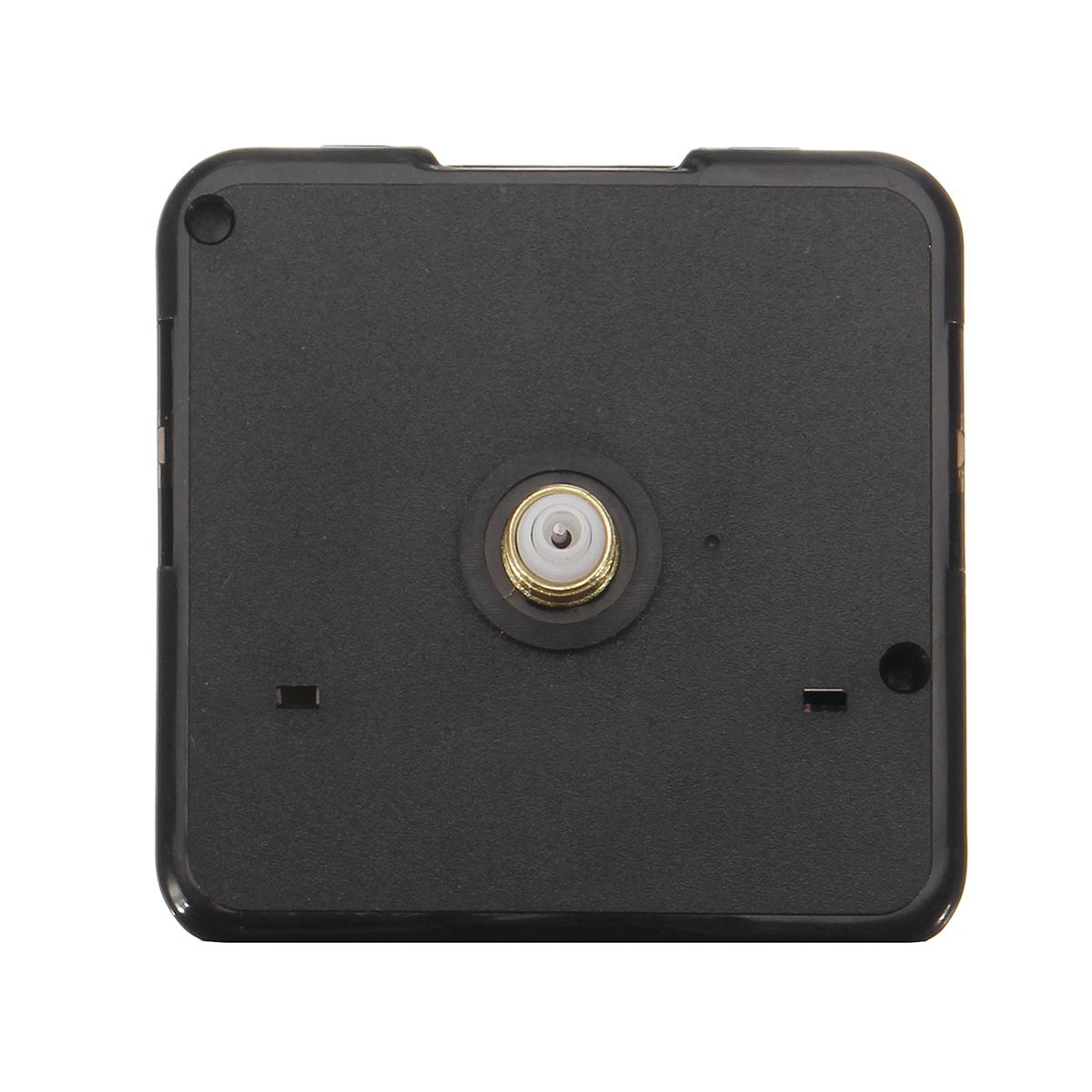 Black/Gold Silent DIY Quartz Wall Clock Movement Mechanism Repair Tool Parts Kit