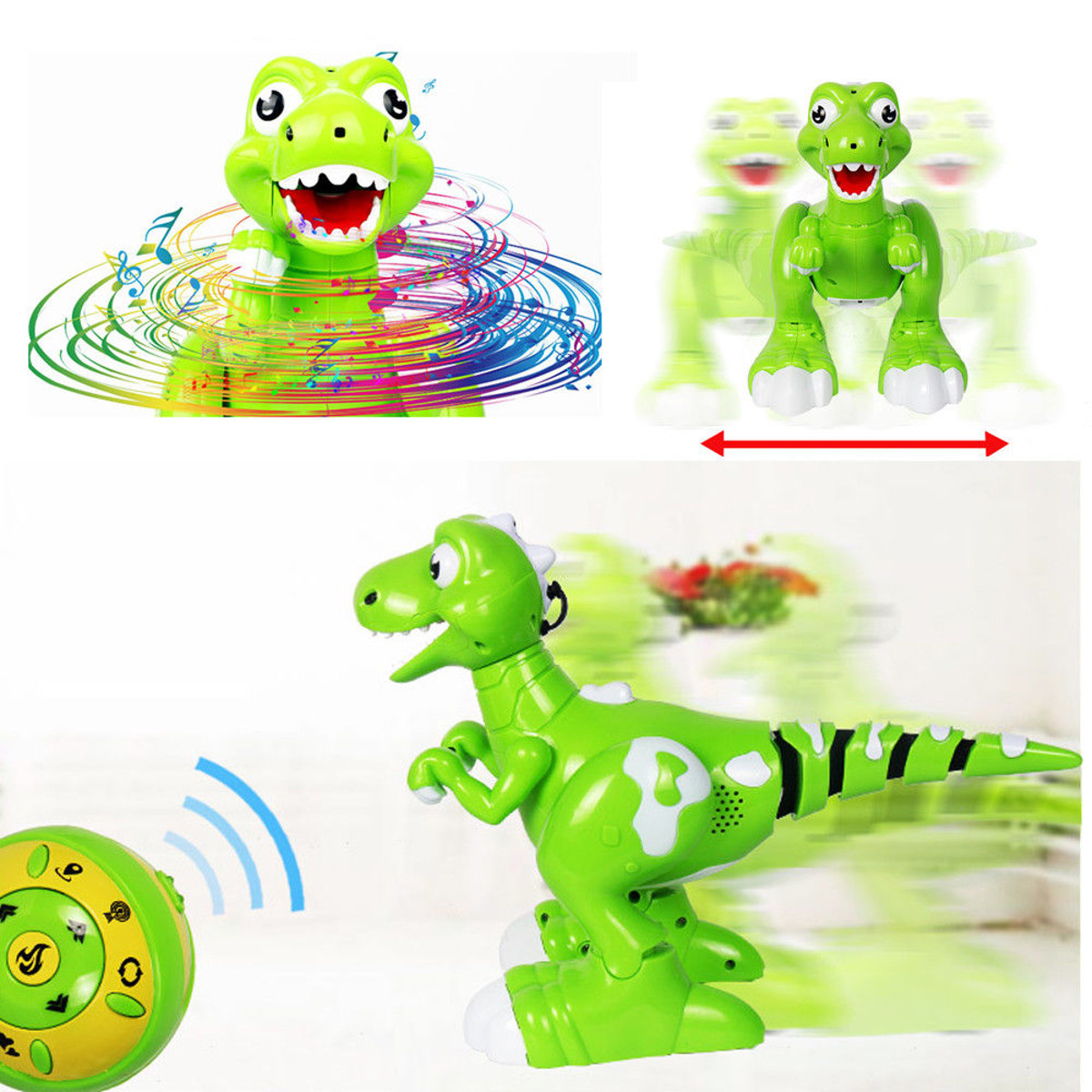 Robot Mist Spray Dinosaur Cute RC Toy Remote Control Interactive Kids Gifts