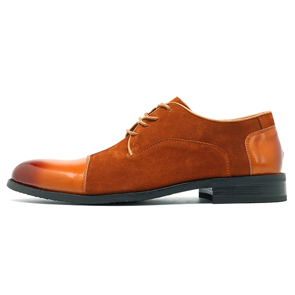 Men Soft Suede Leather Business Formal Shoes