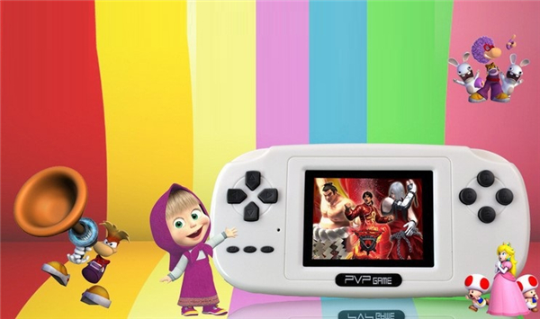 PVP Game 8 Bit 10000 in 1 Video Game Console 2.5 inch TFT Screen MP3 MP4 Support TV Connetion
