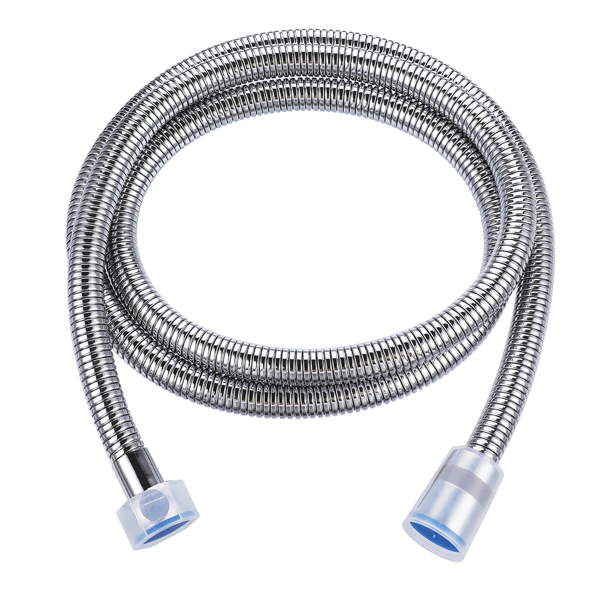 1.5m Flexible Handheld Shower Head Hose Dense Structure Stainless Steel 360° Rotatable Connector