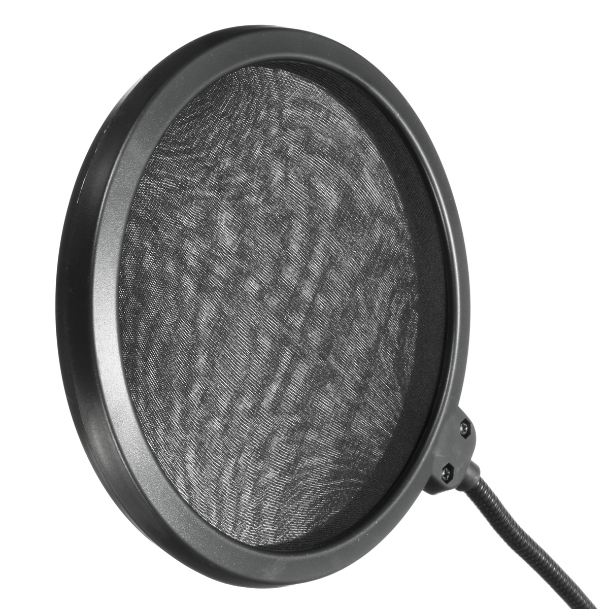 Flexible Dual Double Layer Record Studio Microphone Professional Mic Windscreen Pop Filter Shield