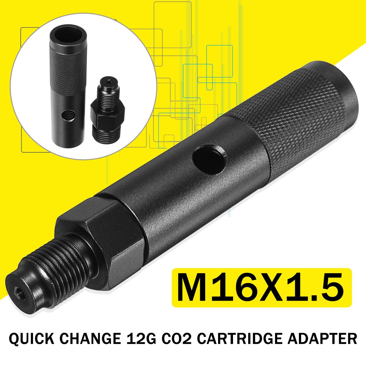 M16x1.5 Thread Quick Change 12g CO2 Valve Cartridge Adapter Machinery Parts