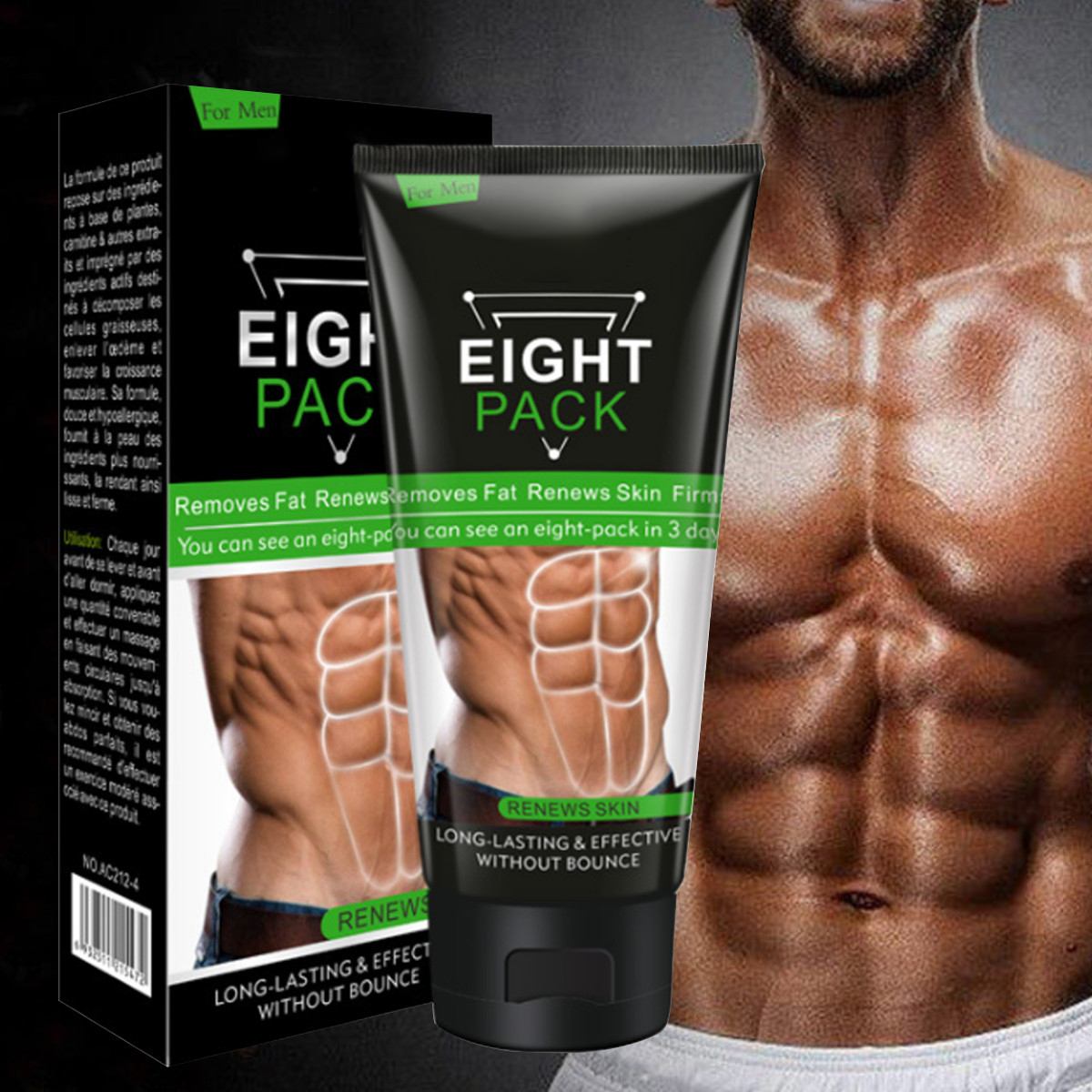 Men Slimming Cream Fat Burning Muscle