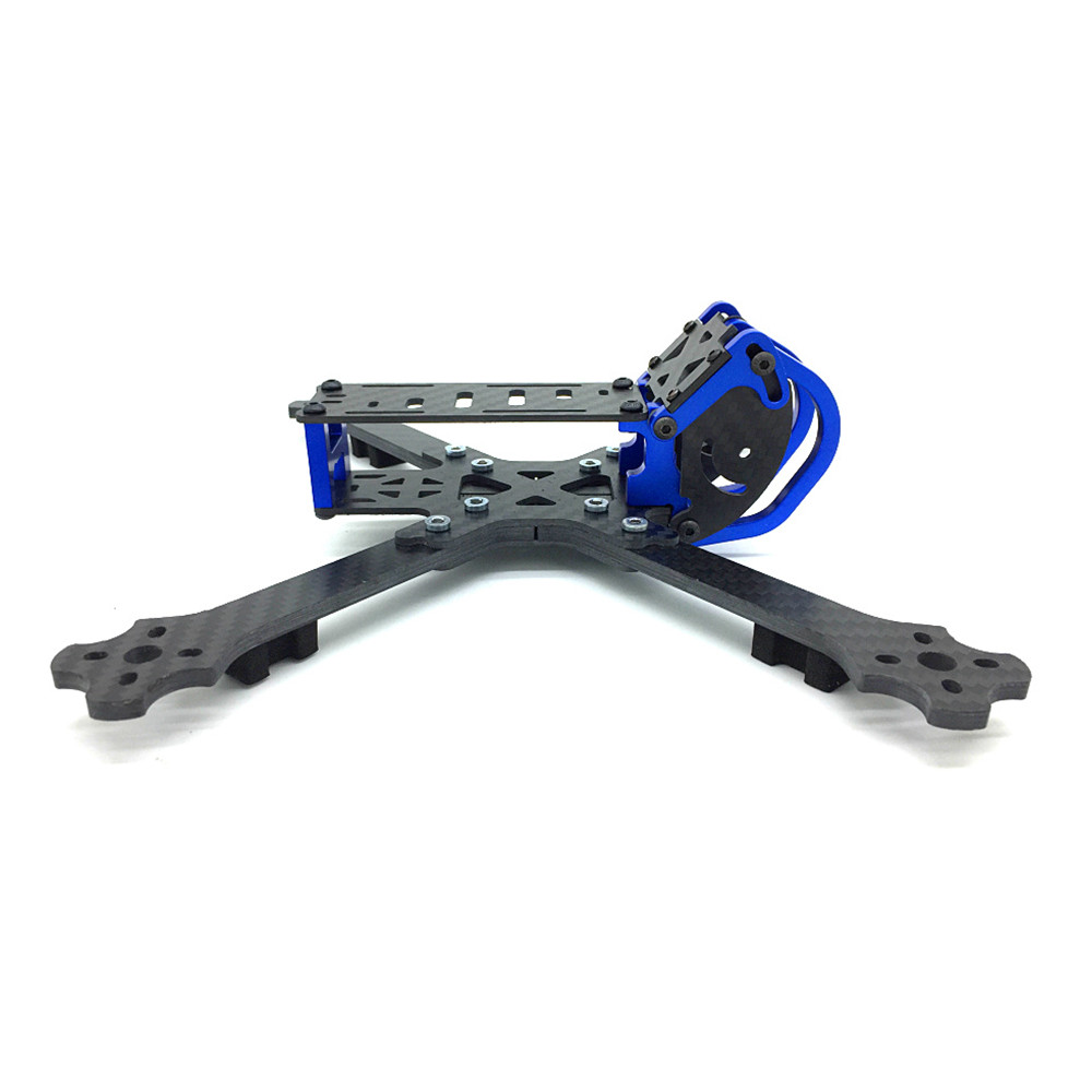 Cobra X5 X5D 5 Inch 227mm 4mm Arm 3K Carbon Fiber Racing Frame Kit w/ Camera Mount for Gopro Session - Photo: 5