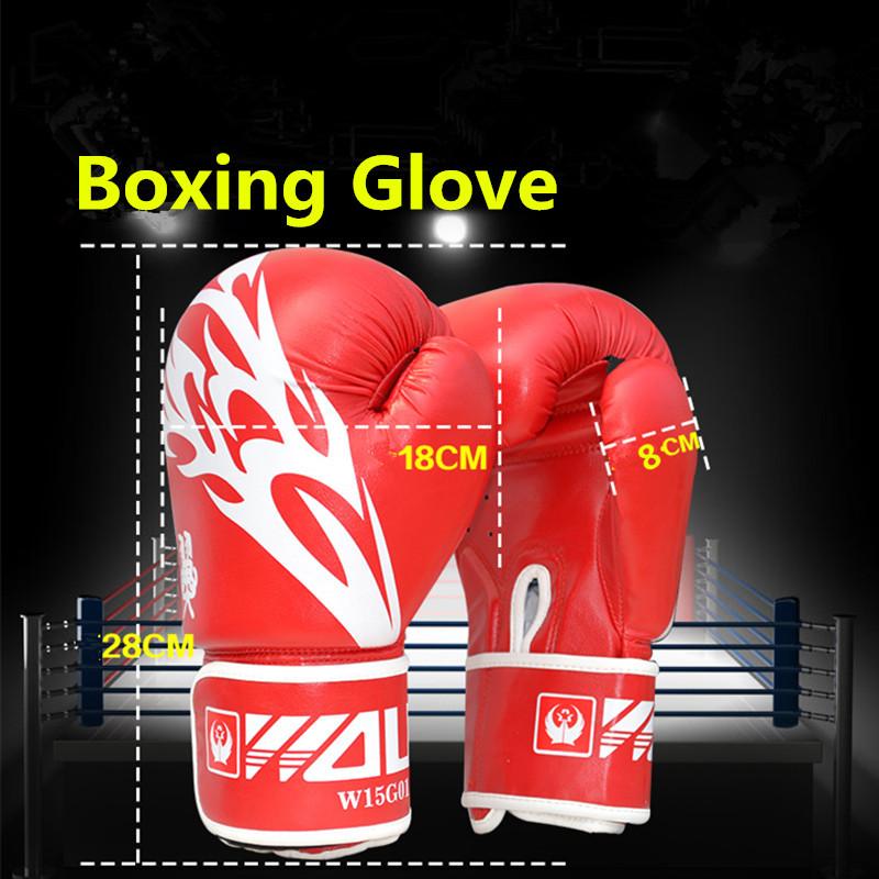 Adults Men Boxing Gloves MMA Muay Thai Boxe De Luva Mitts Sanda Equipments Taekwondo Protector
