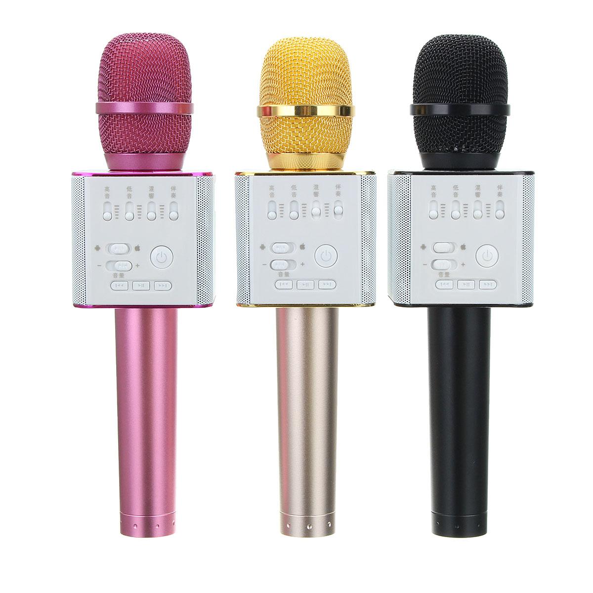 MicGeek Q9 Mini Home Outdoor KTV Karaoke Wireless Bluet