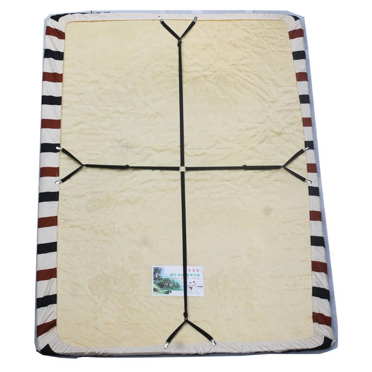 Adjustable Crisscross Bed Fitted Sheet Straps Suspenders Gripper Holder Fastener Bedding sets