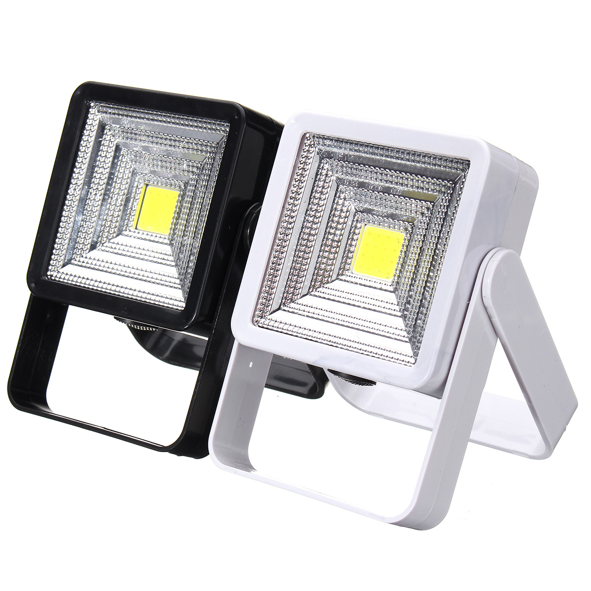 Bright COB LED Camping Lantern Solar Power Rechargeable
