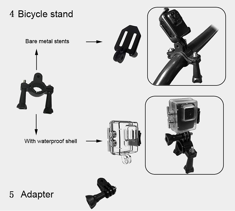 R3 Waterproof 12MP 1080P 30FPS HD Night Version 110 Degree Wide Angle Sport Action Camera