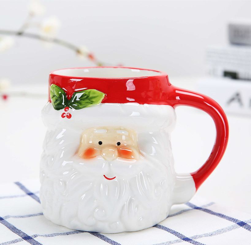 Creative Christmas Gift Ceramic Tea Mugs Water Container Cups And Mugs Top Grade Porcelain Coffee Cup Drinkware