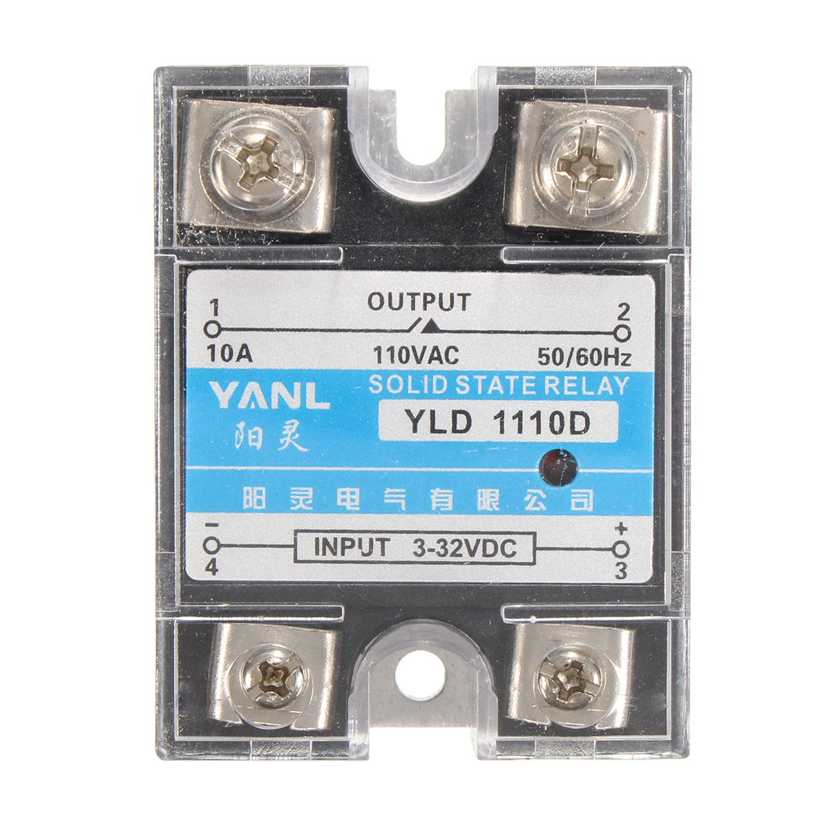 New Solid State Relay Ssr 25dd Dc 25a 3 32vdc Input 5 60vdc Z240d10 220vdc 10a 15a