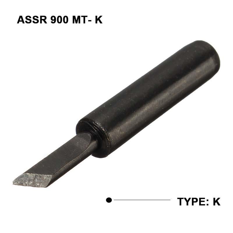 6Pcs Lead Free Solder Iron Tip 900M-T for Hakko Soldering ReWork Station Tool