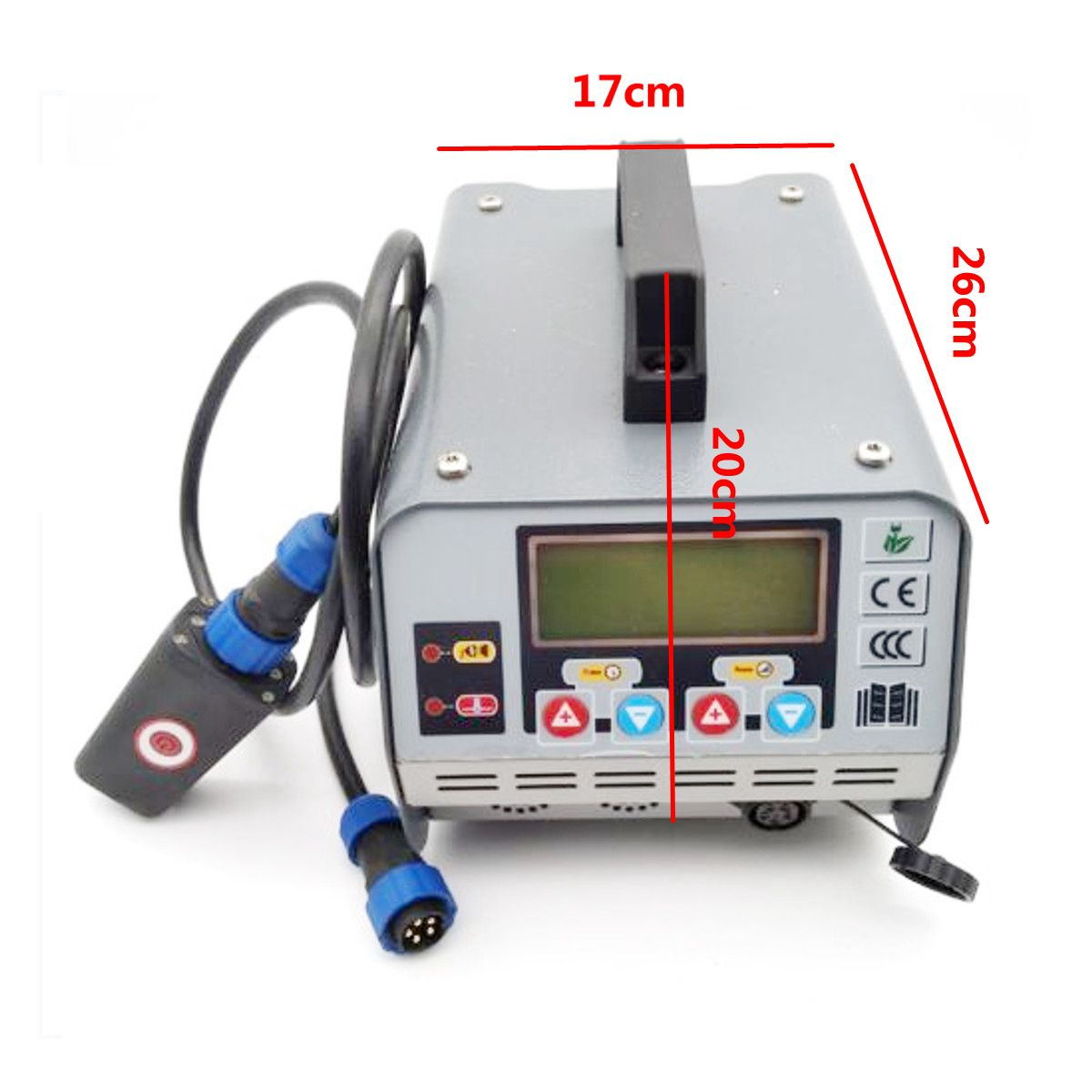 220V 1100W Paintless Dent Repair Remover PDR Induction Heater Hot Box