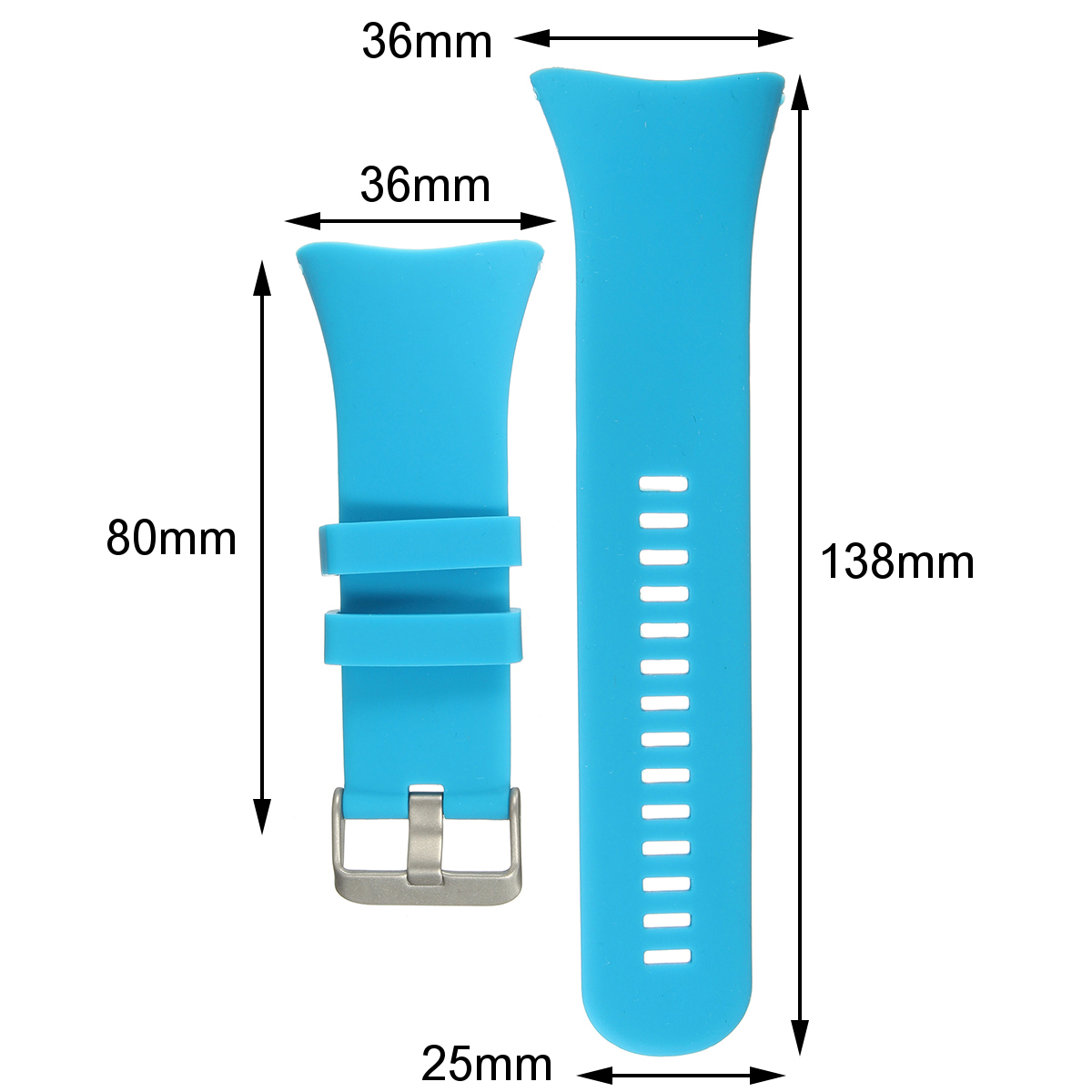 Luxury Rubber Watch Band Replacement Band Strap for SUUNTO CORE SS014993000