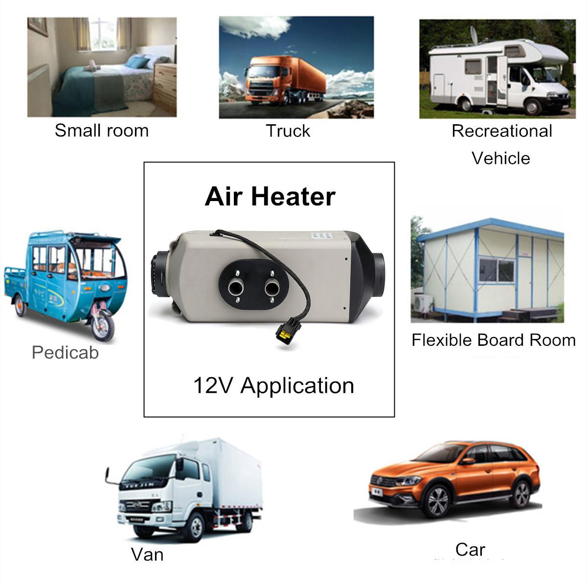 12V 5KW Diesel Air Parking Heater Diesel Heating Parking Air Heater