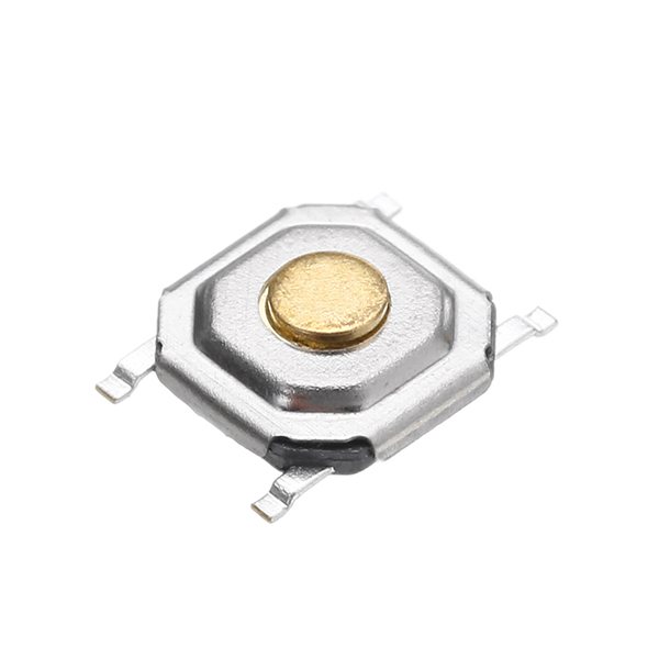 100Pcs 4x4x1.5MM Tact Tactile Push Button Momentary SMD Surface Mount Switch