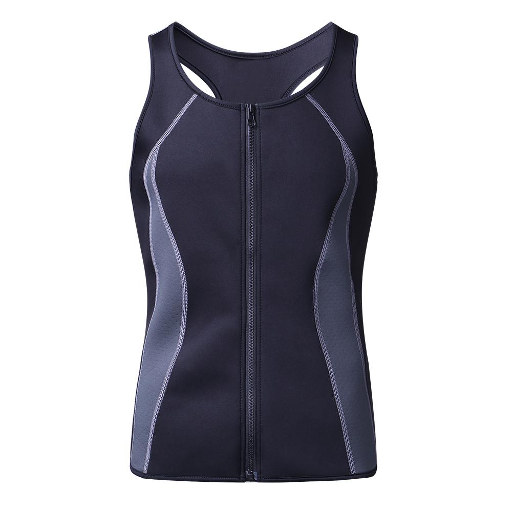 Men Sweat Sauna Neoprene Shaper Vest Muscle Workout Tank Top