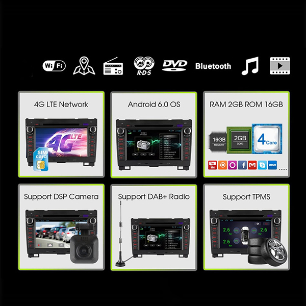 Ownice C500 OL-8992F HD 8Inch 4G Wifi Car DVD Player Android 6.0 Quad Core TV GPS For Great Wall