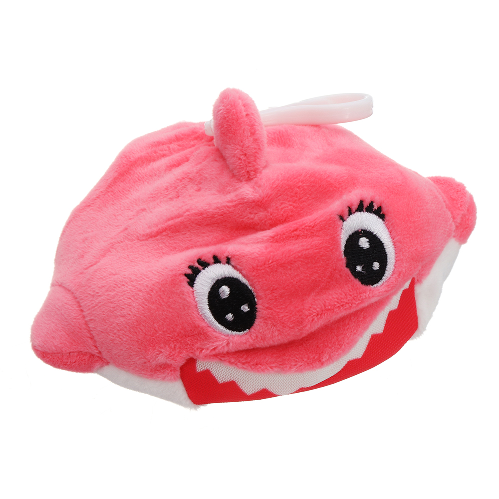Sanqi Elan Squishimal Baby Shark 9cm Squishy Foamed Plush Stuffed Toy Slow Rising Pendant Gift Collect