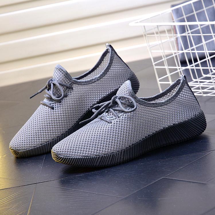 Men Sandals Shoes Mesh Summer Running Breathable Slip On Beach