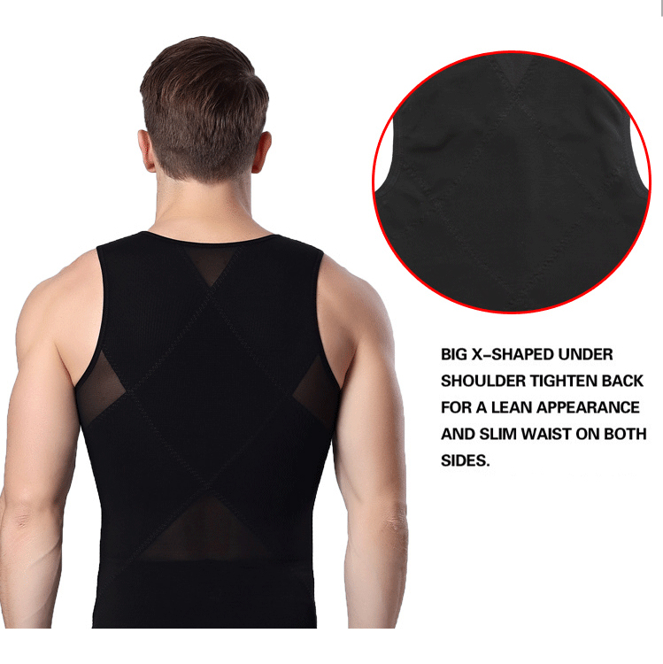 Men's Body Sculpting Abdomen Fitness Tank Tops