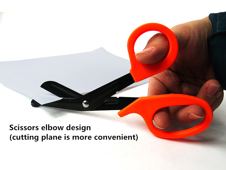 Stainless Steel EDC Tactical Scissors EMT Canvas Emergency Scissors