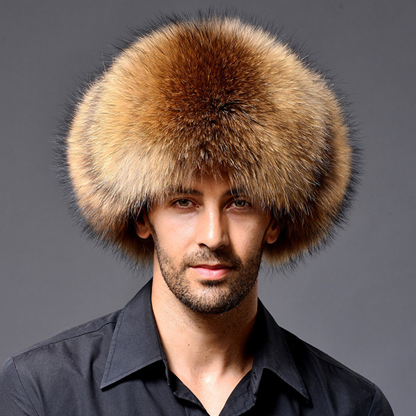 Mens Winter Thickening Warm Earmuffs Faux Fur Hats
